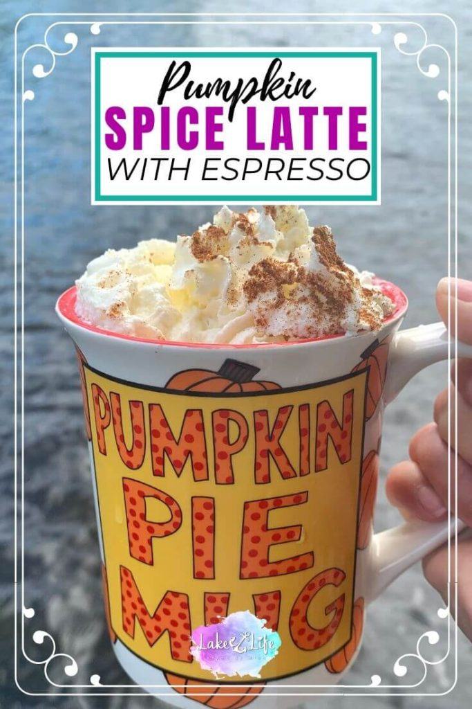 Homemade Pumpkin Spice Latte with Espresso