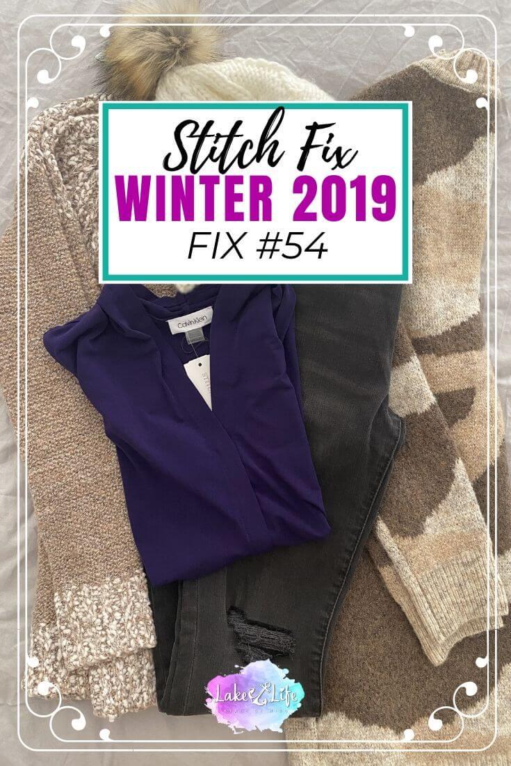 Stitch Fix Box Review Winter 2019 Fix #54