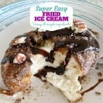 Easy Deep Fried Ice Cream Recipe