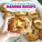 Easy Fruit and Cream Cheese Danish Recipe