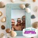 Easy Seashell Frame Craft Idea