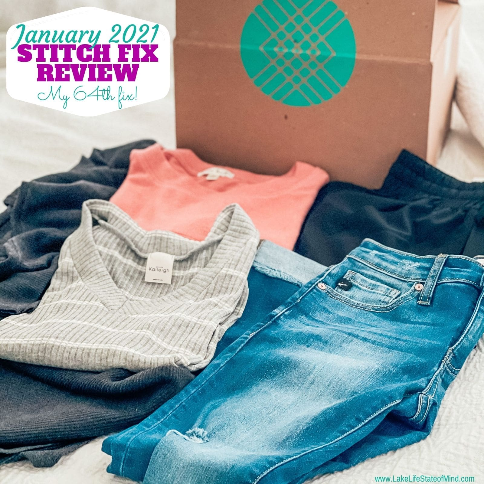 Stitch Fix Box Review for January 2021