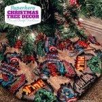 Superhero Decorated Christmas Tree