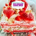 Valentine's Day Ice Cream Cake
