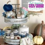Fall Tiered Tray Decor