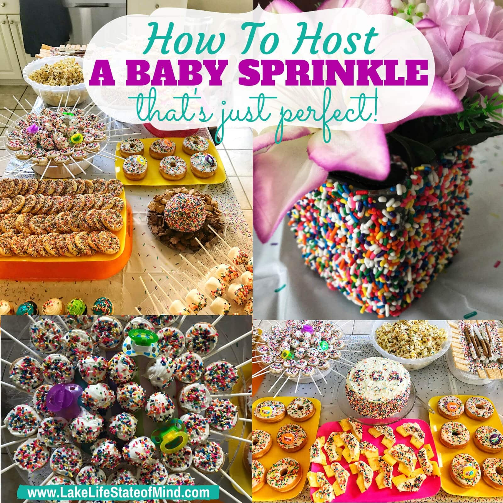 How to Throw the Best Baby Sprinkle, Ever!