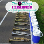 What I learned as a first year band parent