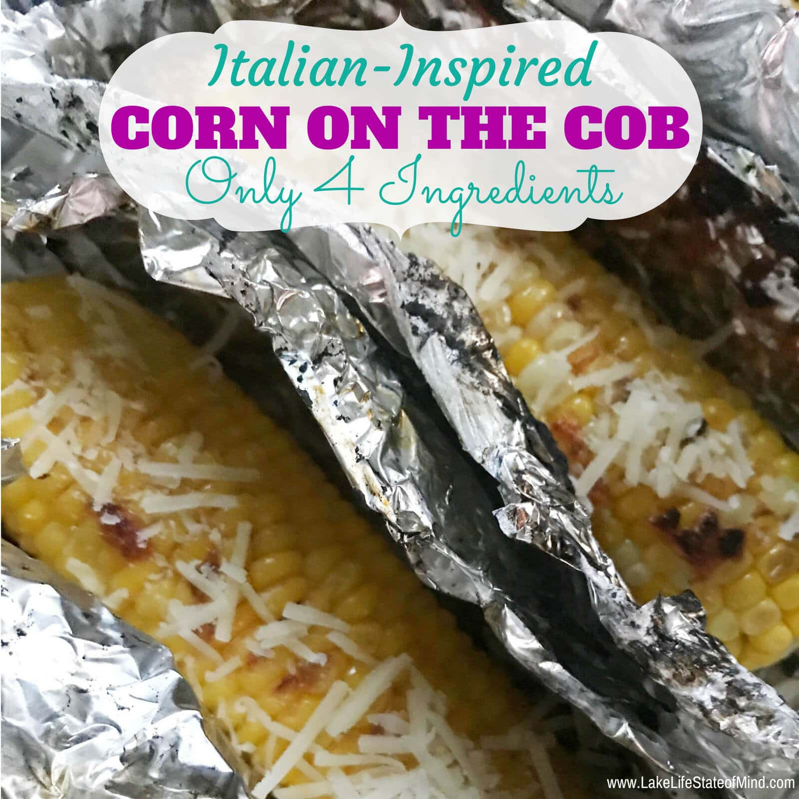 Italian-Inspired Roasted Corn on the Cob