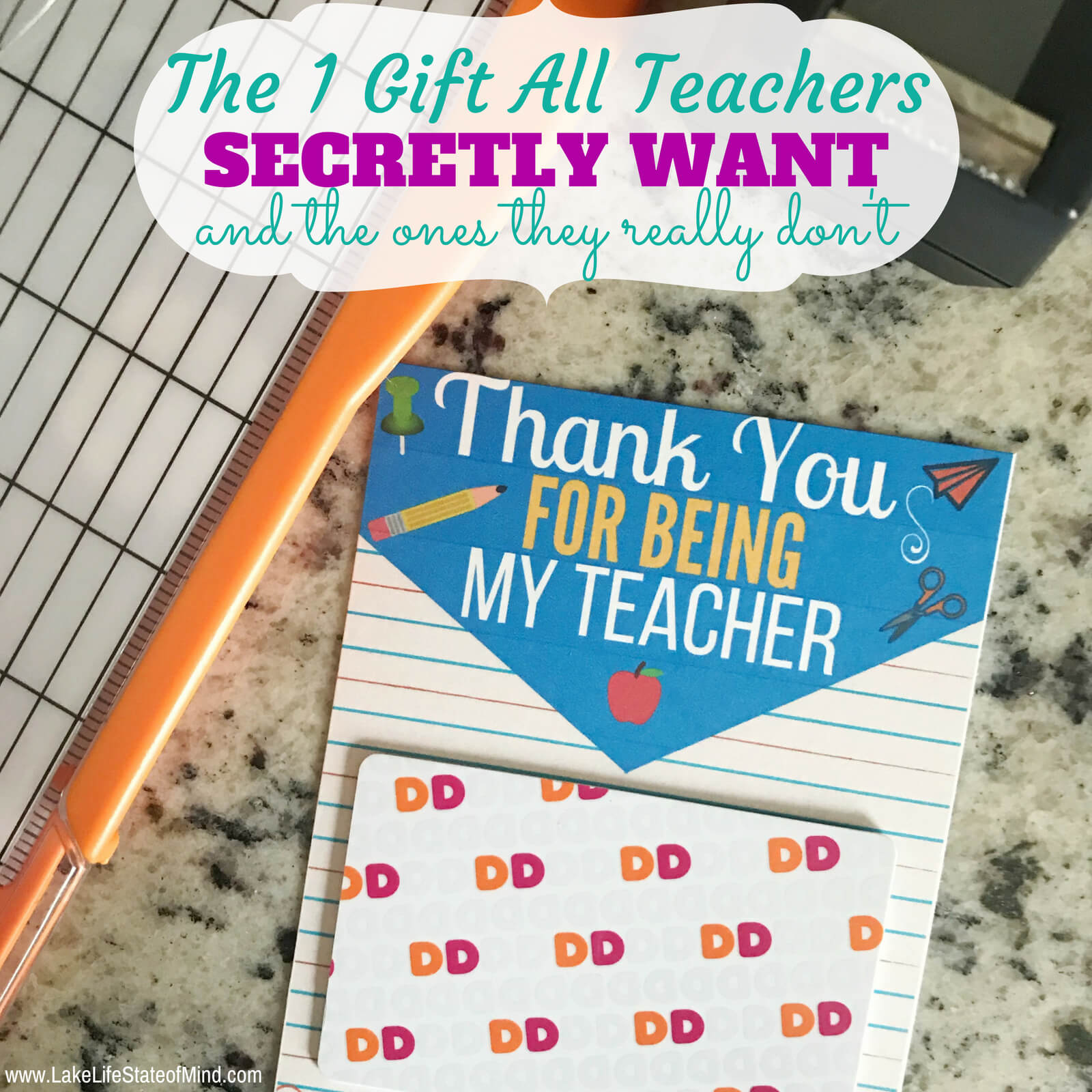 The One Gift All Teachers Will Appreciate