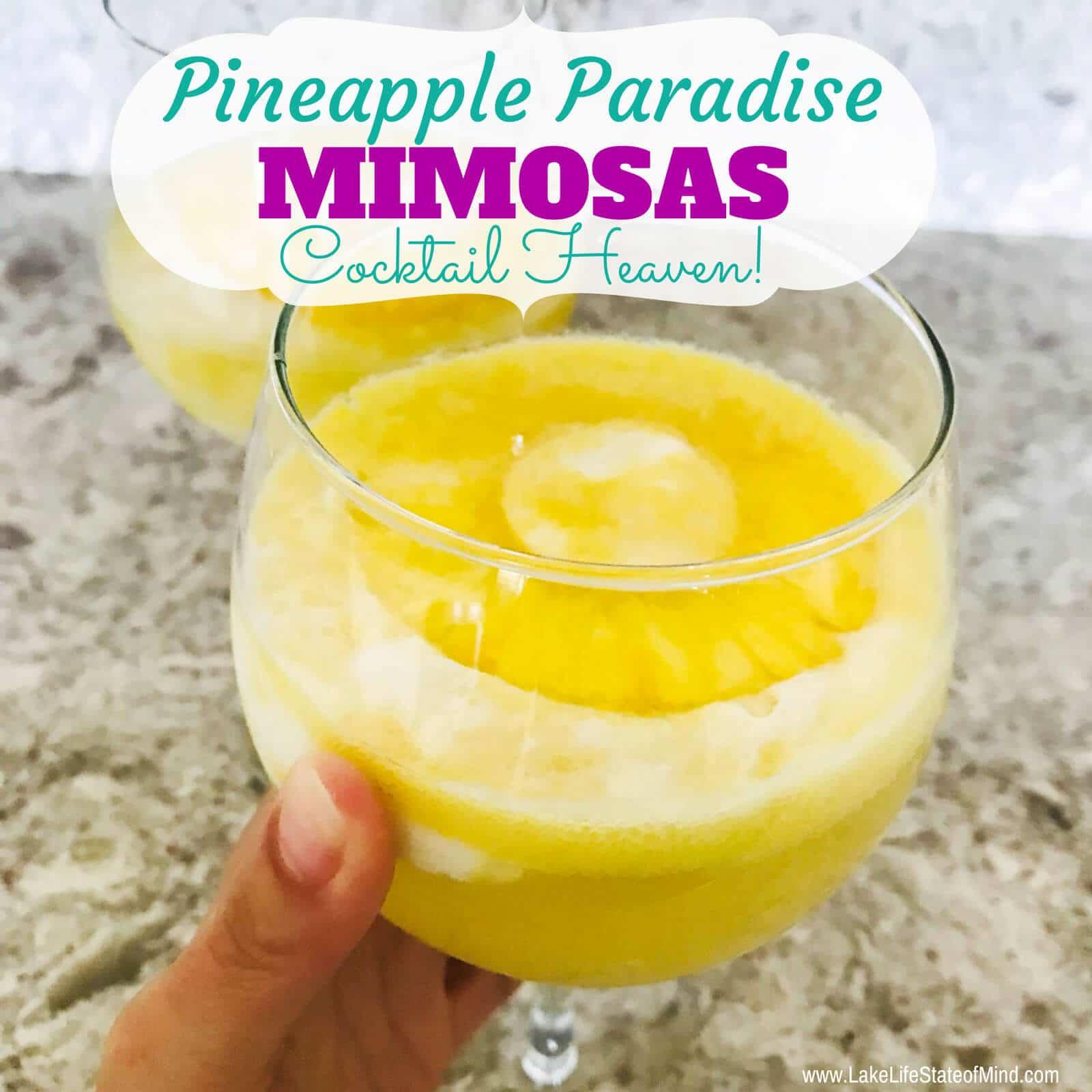 Pineapple Paradise Mimosa