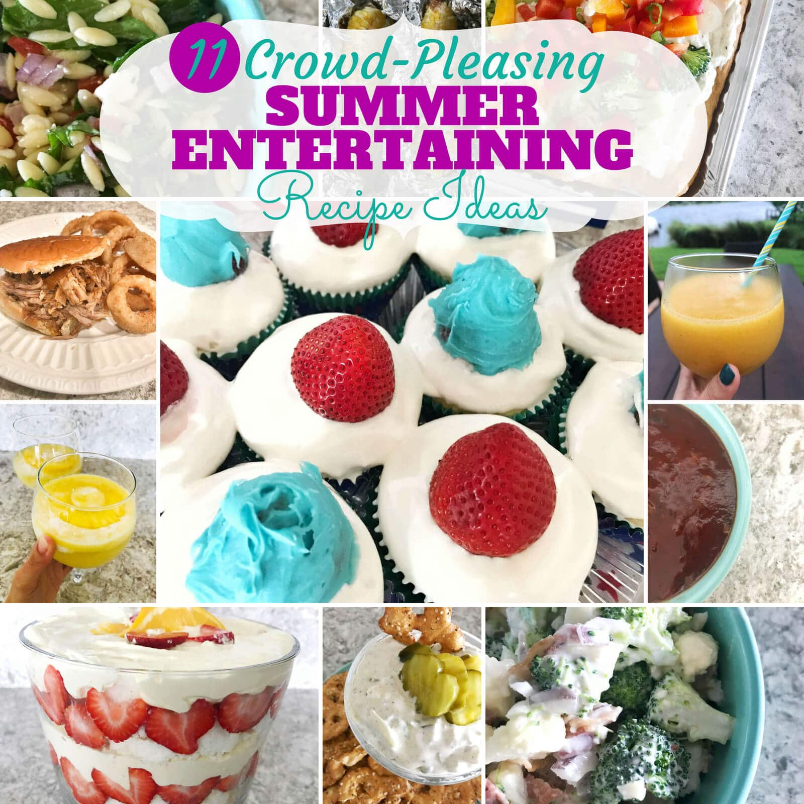 Easy Summer Entertaining Recipes