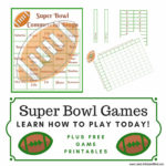 Fun Super Bowl Games