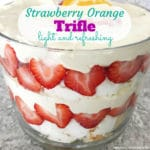Strawberry Orange Trifle