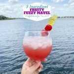 Fruity Fuzzy Navel Cocktail