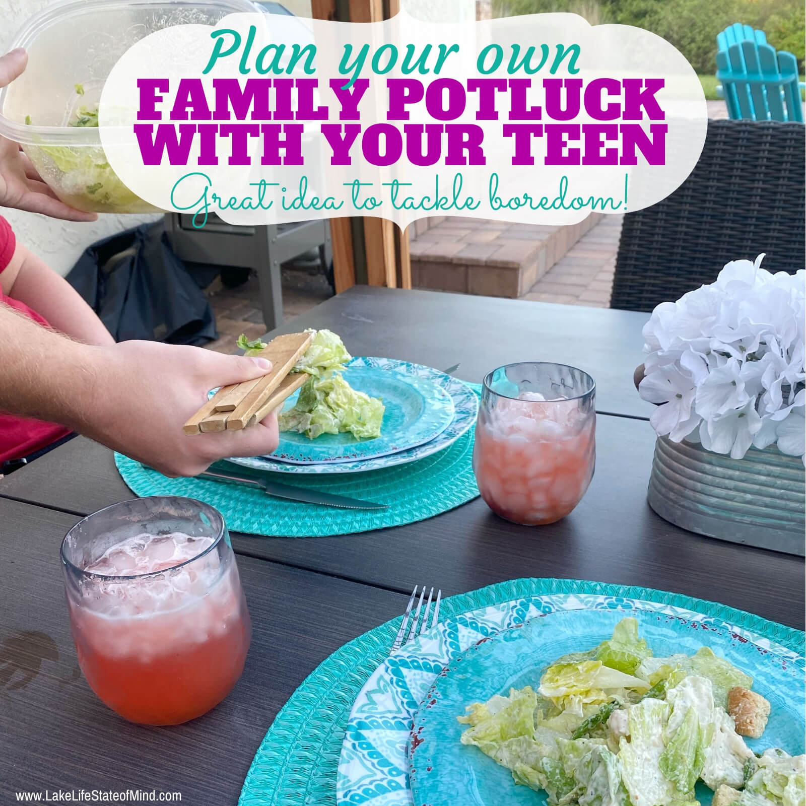 Fun Family Potluck Dinner Idea for Teens