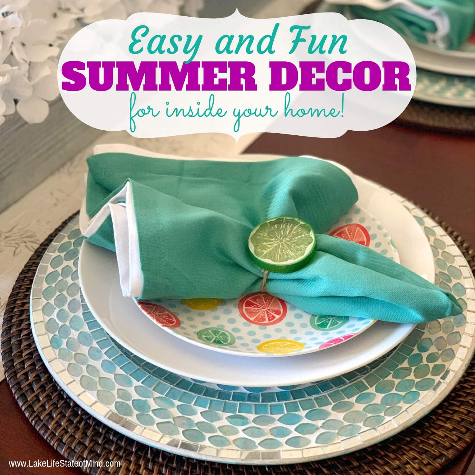 Fun Summer Decorating Ideas for the Home