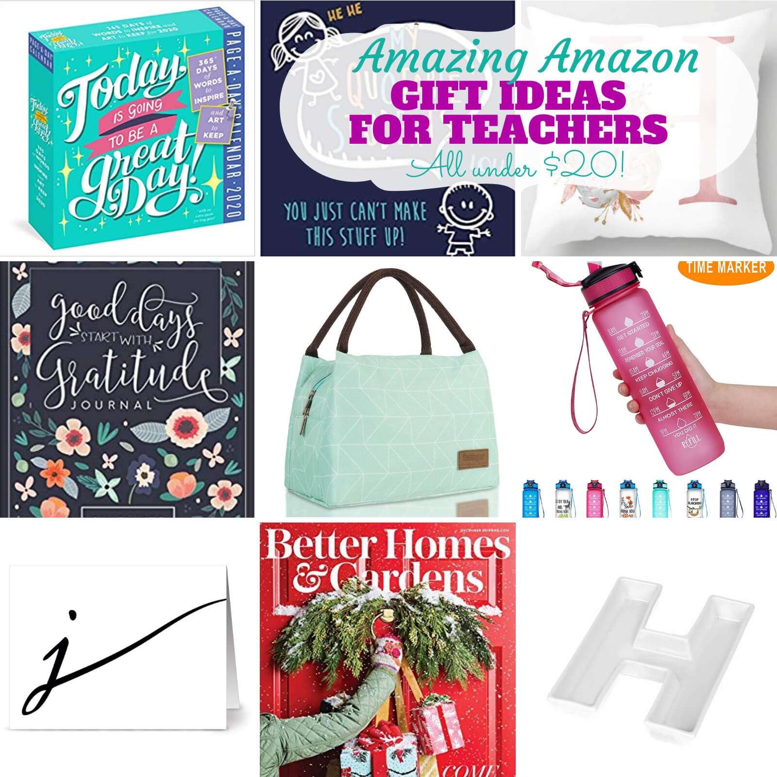 Amazing Amazon Gifts for Teachers Under $20