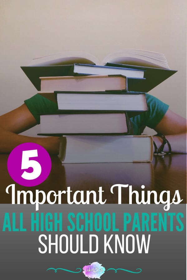5 important things all high school parents should know | Tips for parents of high schoolers