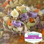 Halloween Chicken Noodle Soup Recipe