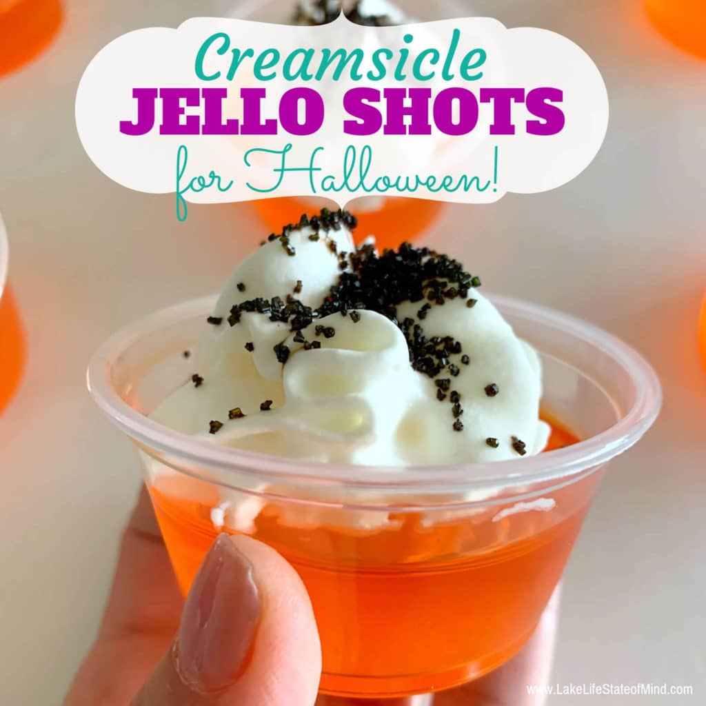 Halloween Creamsicle Jello Shot Recipe