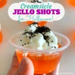 Halloween Creamsicle Jello Shot Recipe