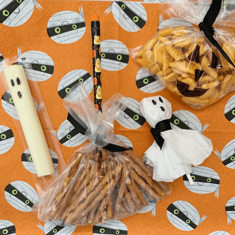 5 minute Halloween snacks