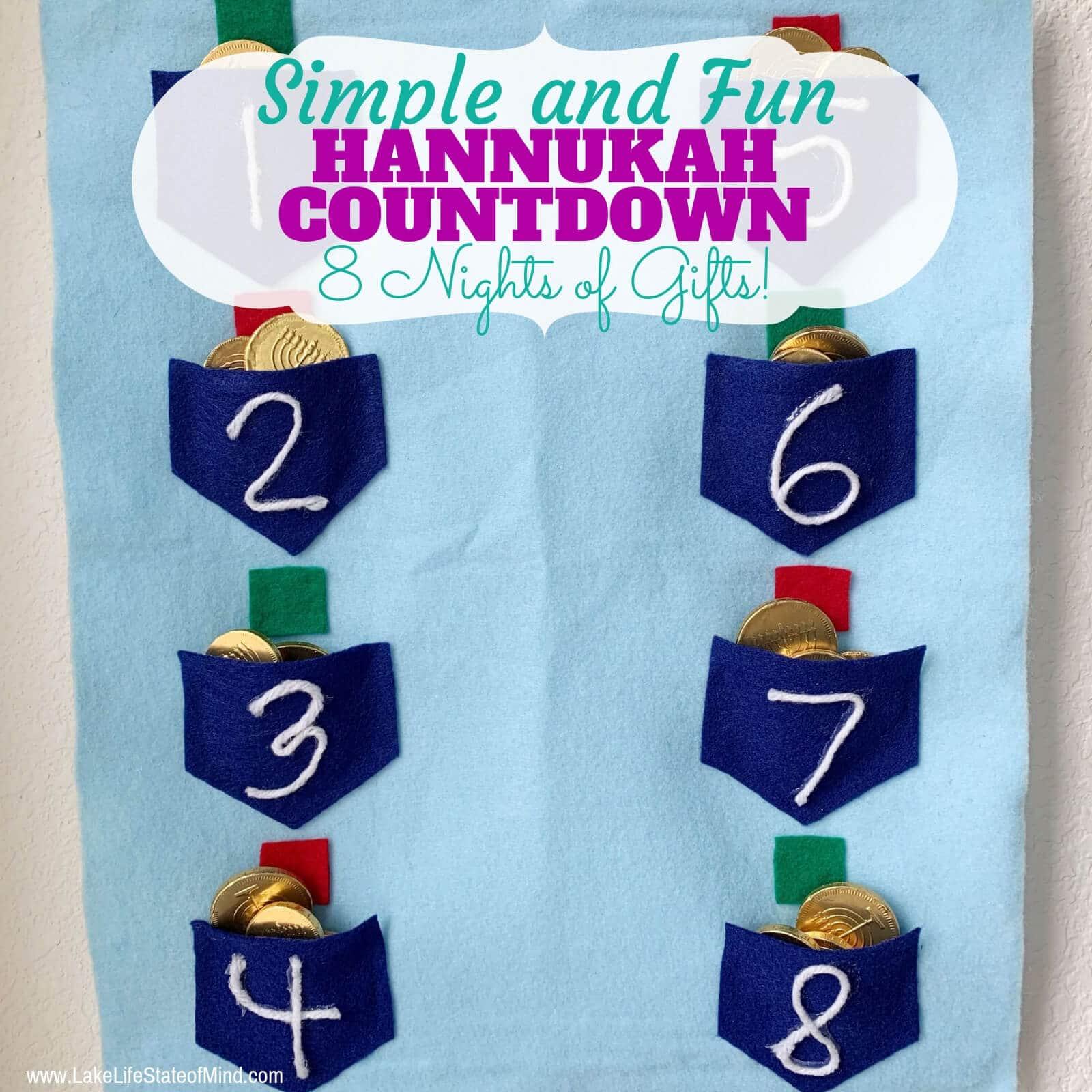 Hanukkah Gift Calendar