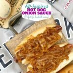 Hot Dog Onion Sauce Recipe