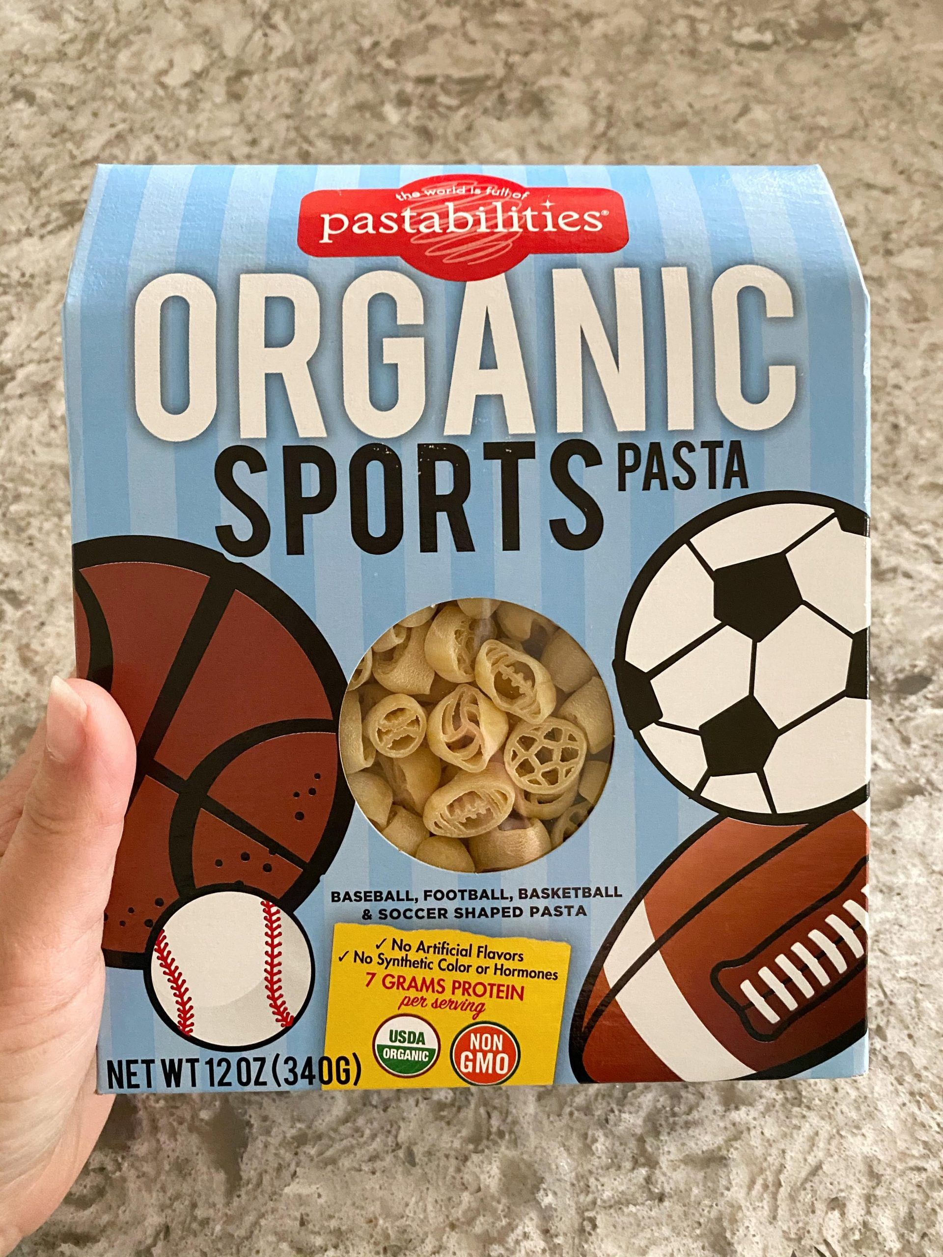 pastabilities sport-shaped pasta