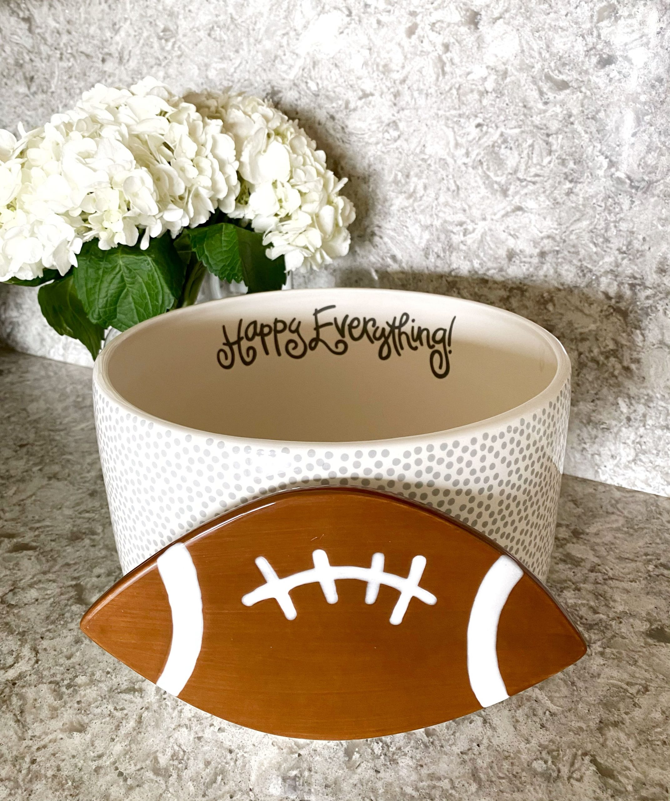 Happy Everything! Large Base Football Attachment