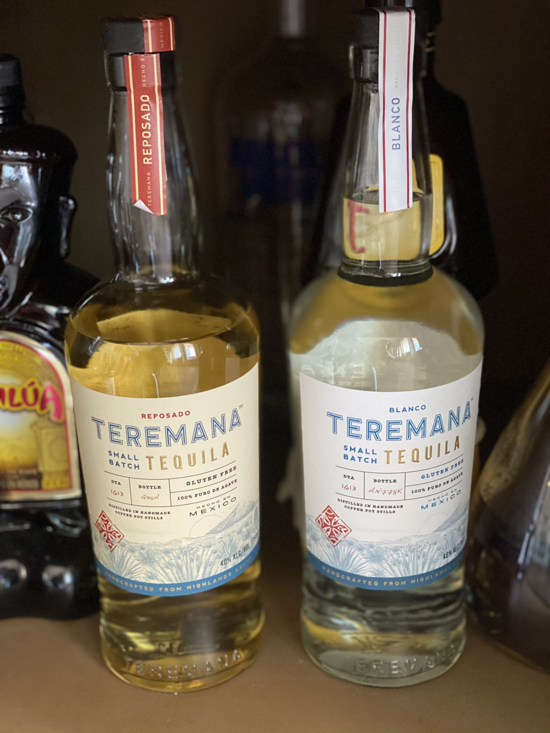 Bottles of Teremana Tequila