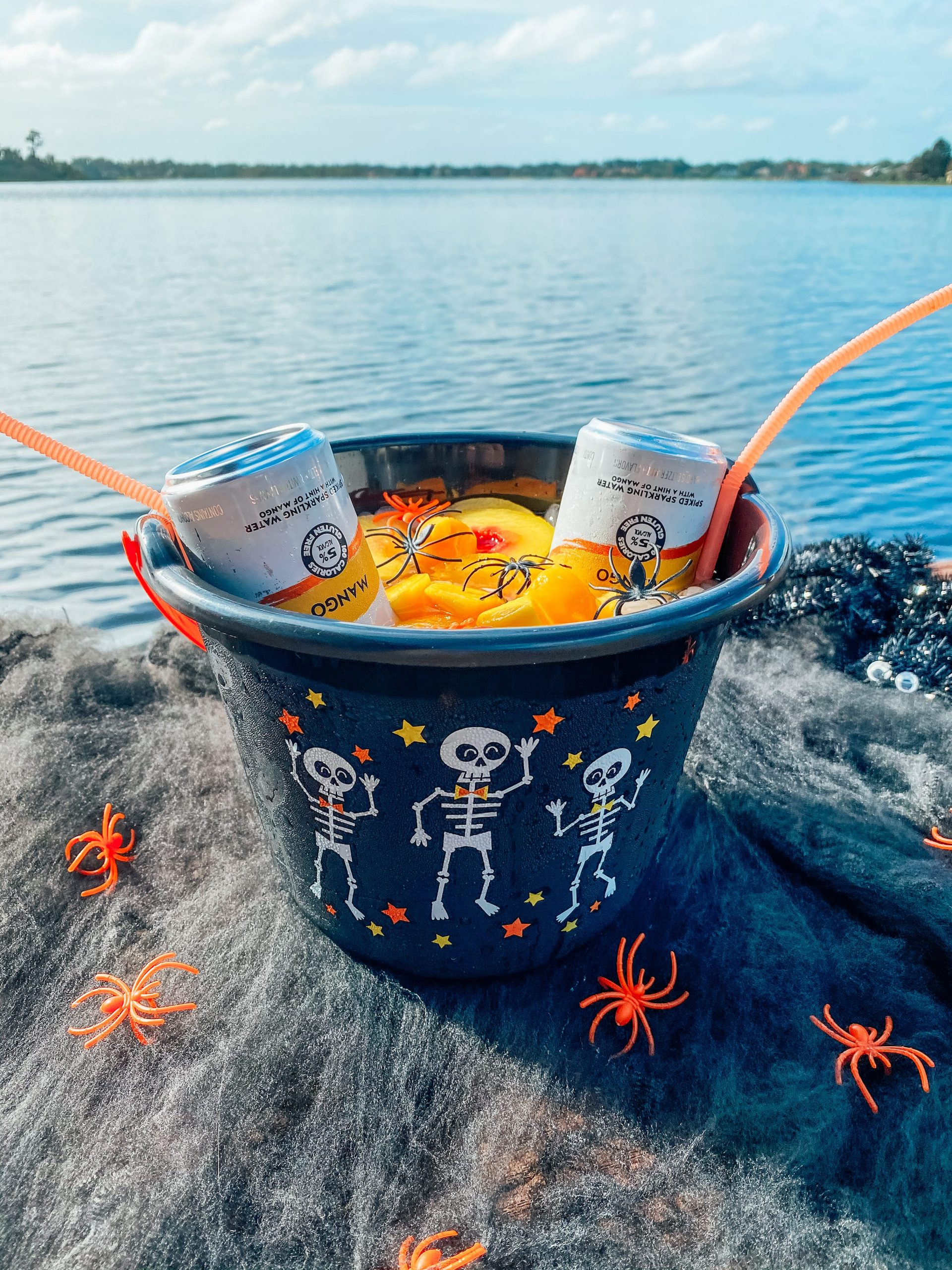 Halloween Bucket Cocktail