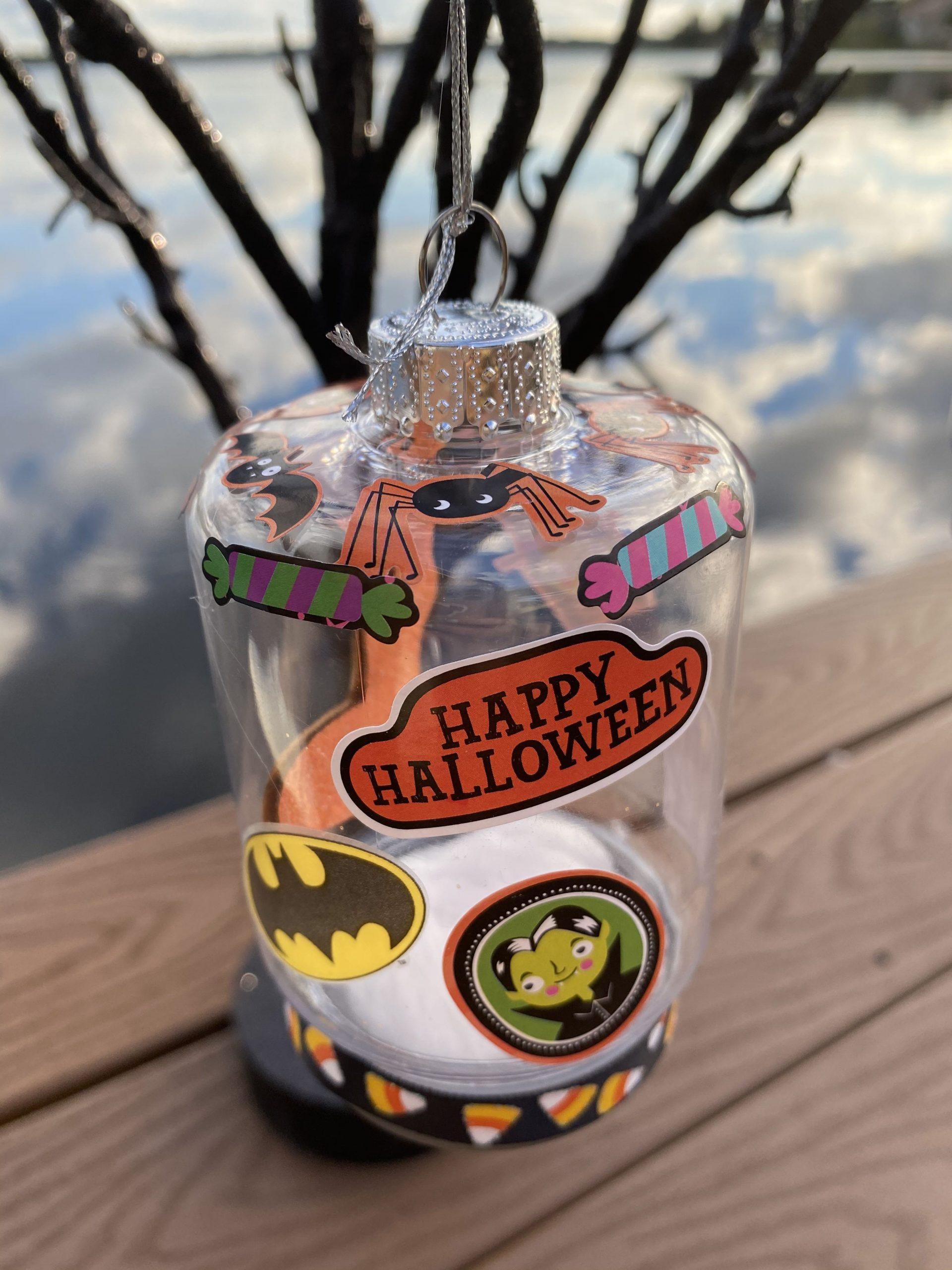 DIY Halloween Tree Ornaments