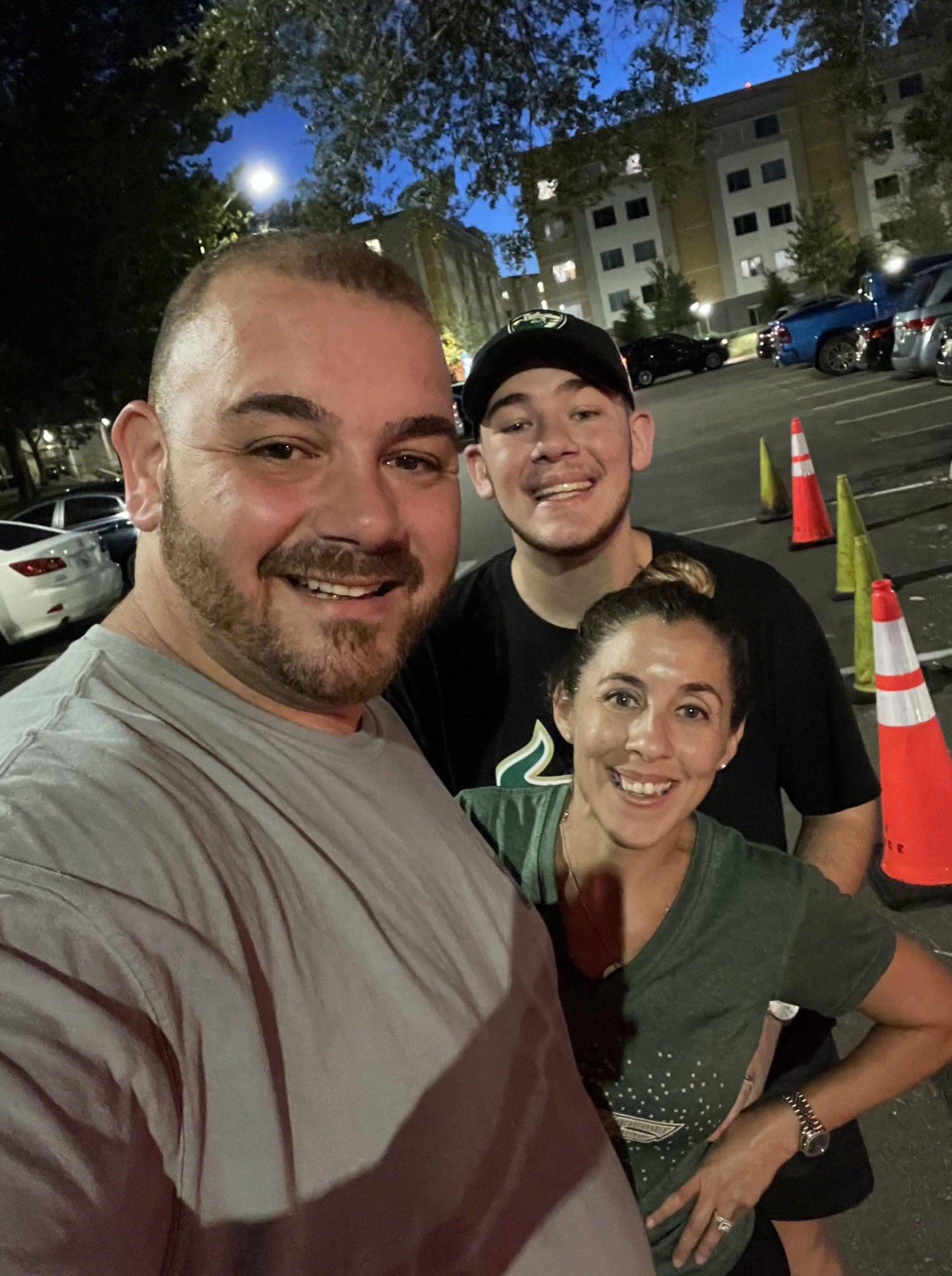 Family at USF