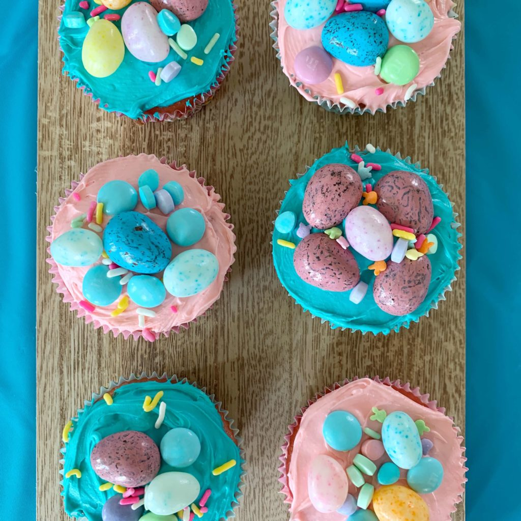 Host An Epic Easter Cupcake Decorating Party for Kids | Easter Cupcake Decorating Ideas