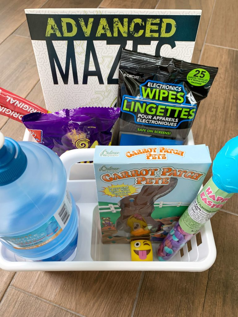 $10 Dollar Easter Basket Idea for Teenagers | Easy Easter Basket for Teen Boys and Girls