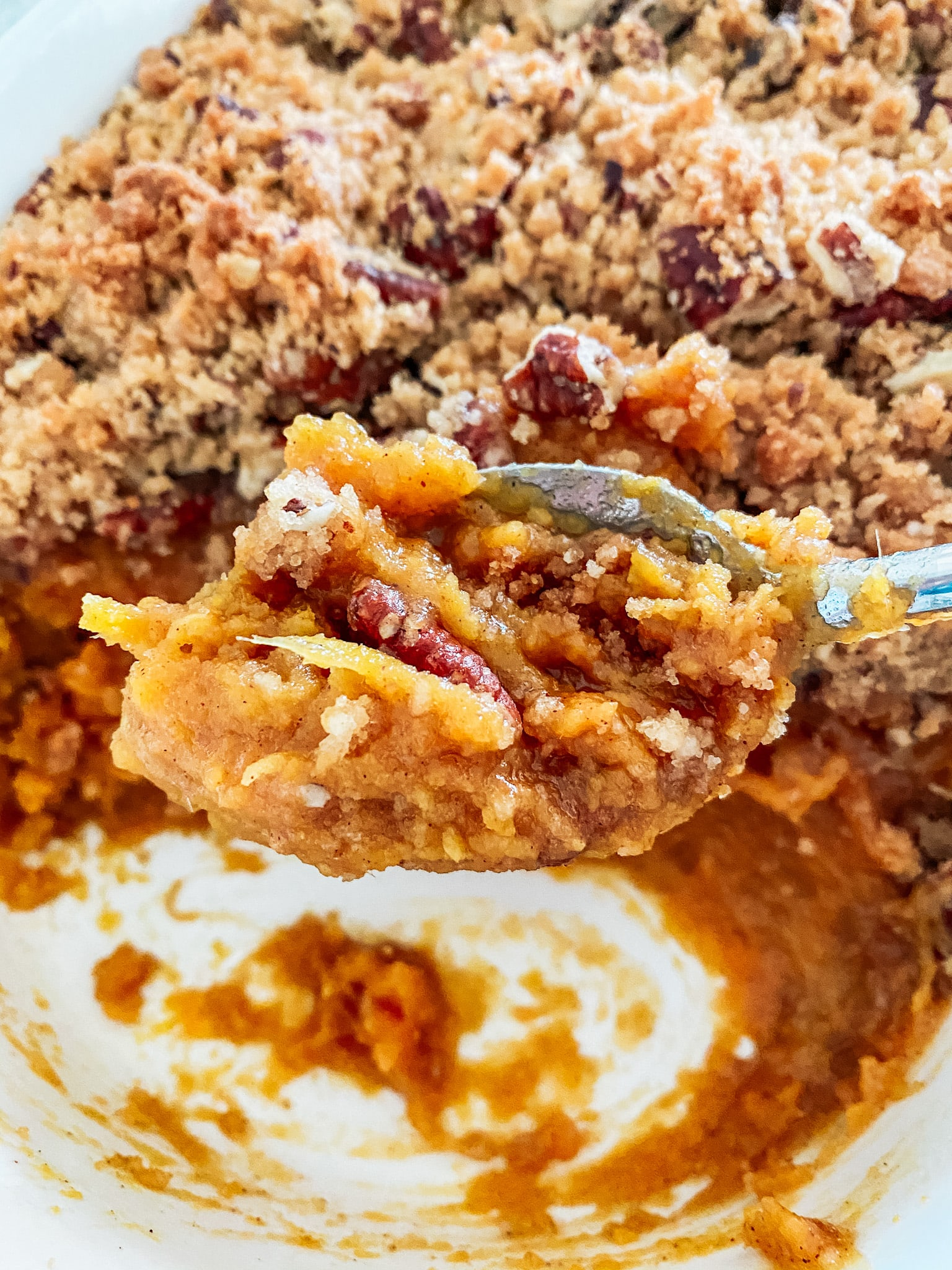 Make Ahead Sweet Potato Casserole
