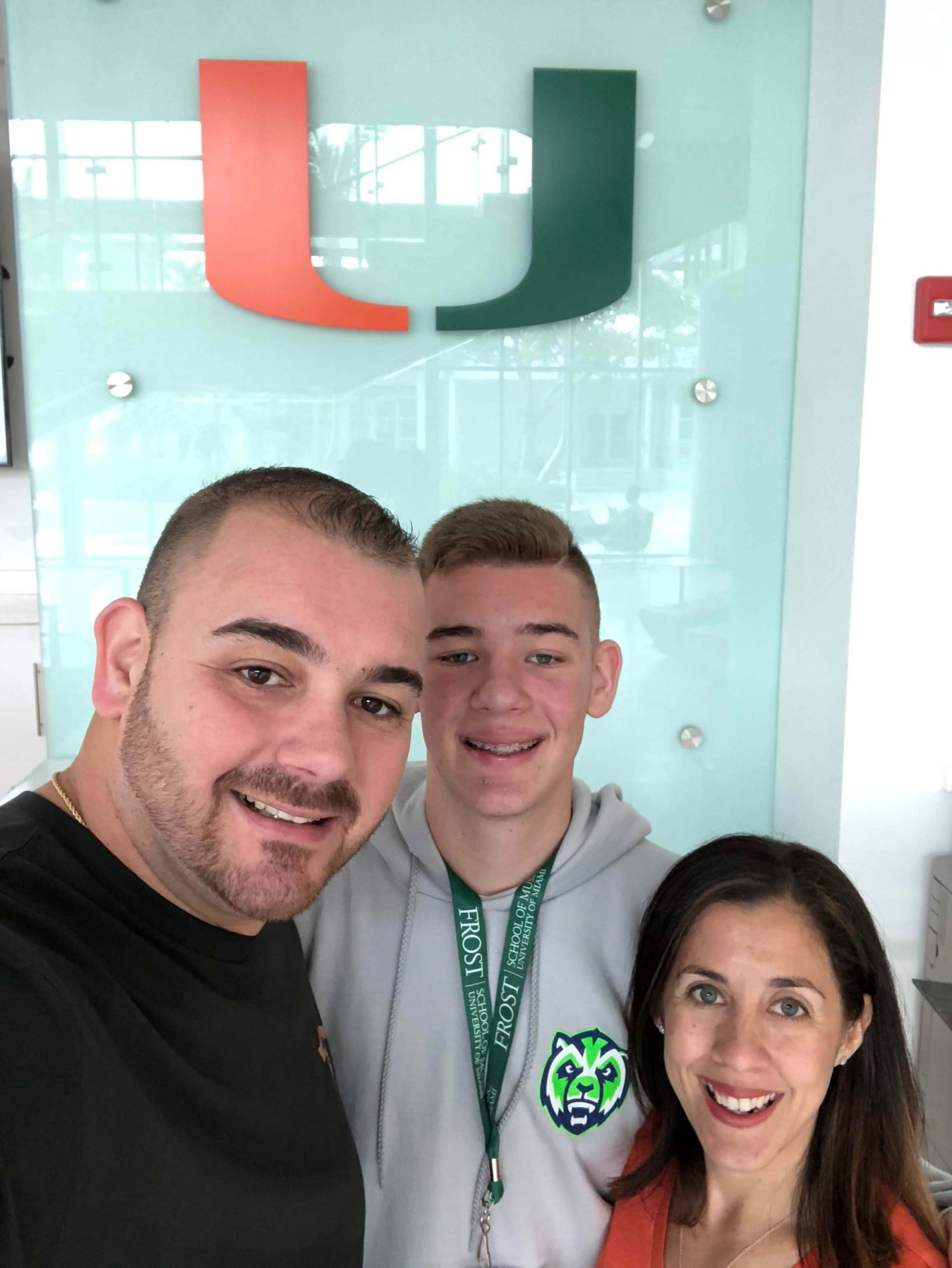 Family Photo University of Miami
