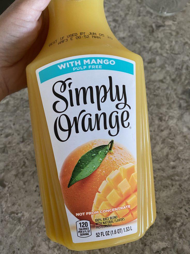 Orange Mango Tequila Sunrise