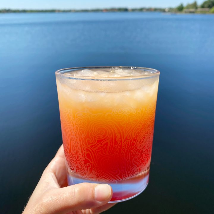 Orange Mango Tequila Sunrise