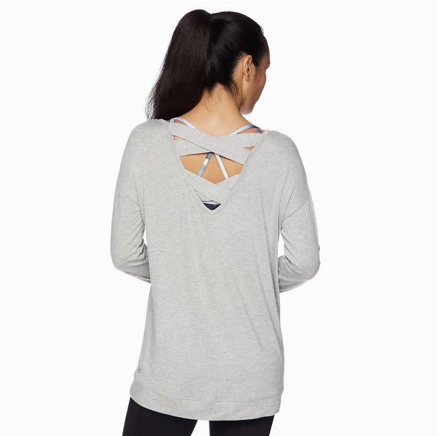 GAIAM Revitalize Cross Back Top
