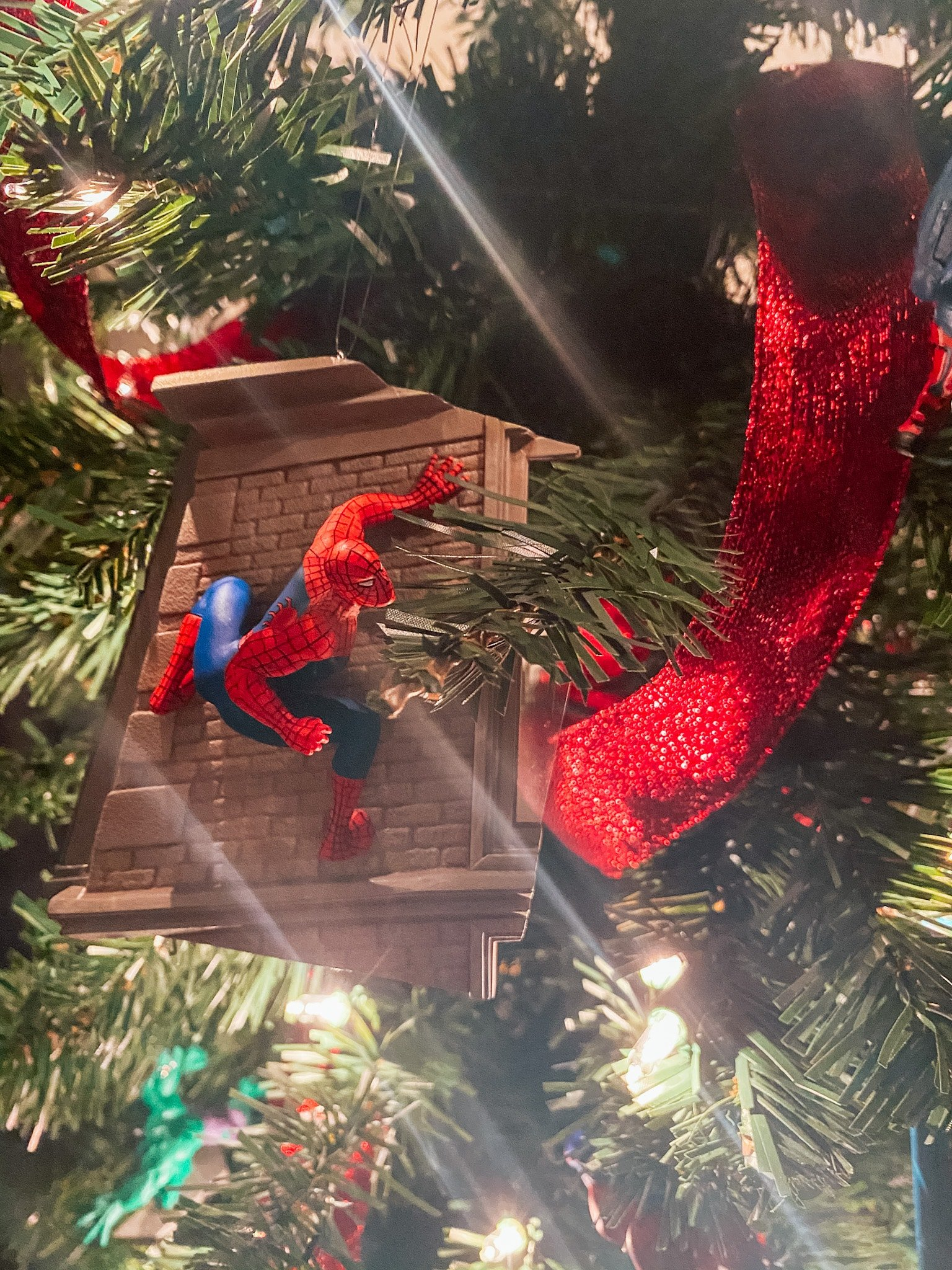 Spider-Man Christmas ornament