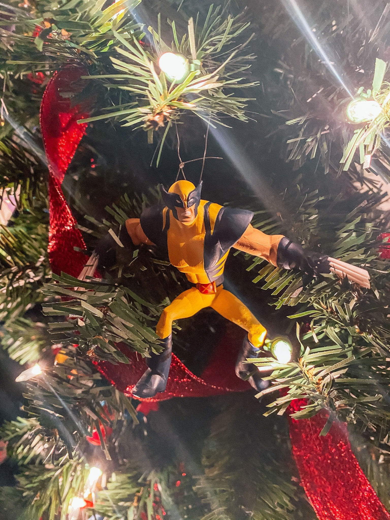 Wolverine Christmas Ornament