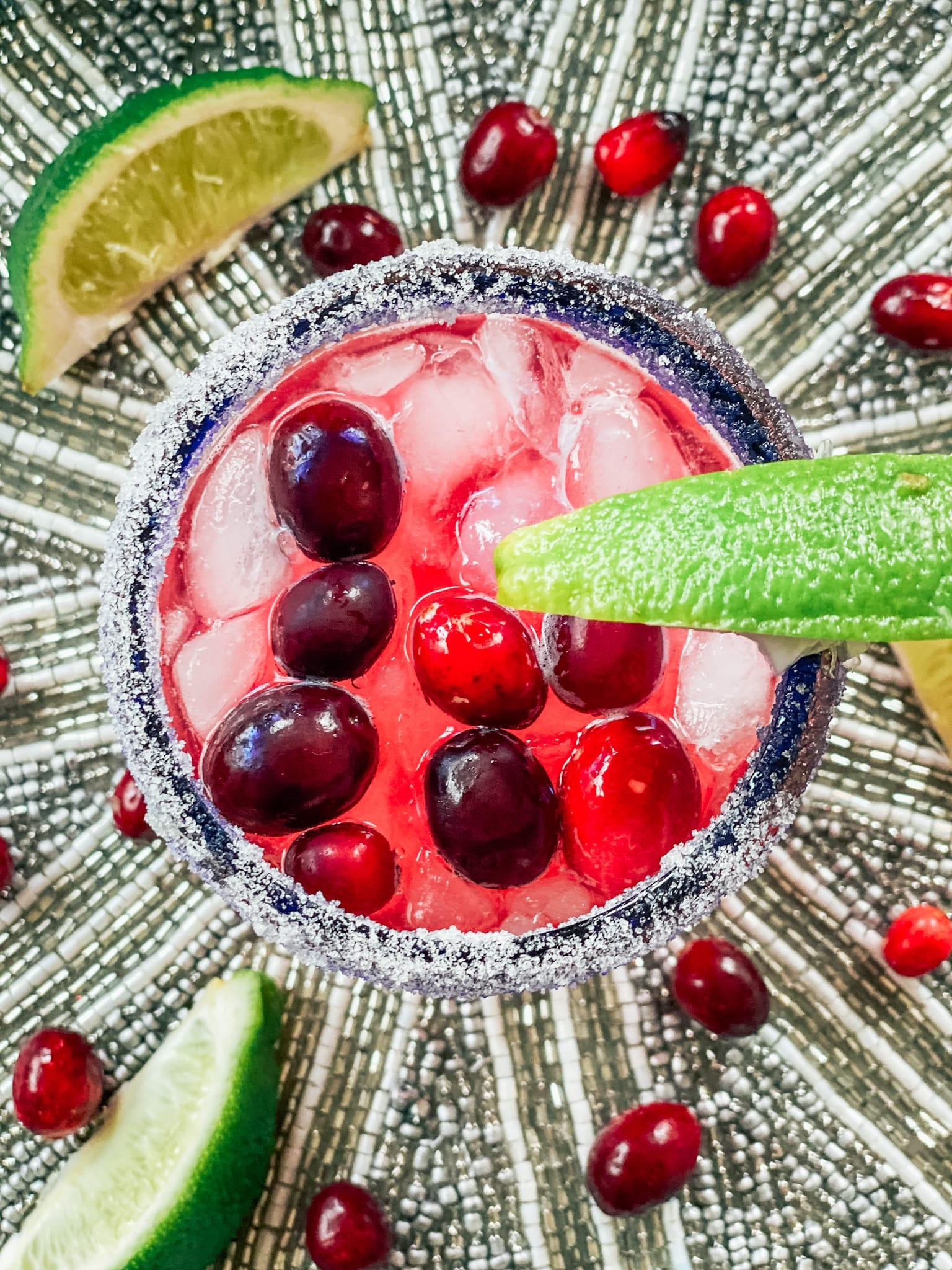 Holiday Cranberry Margarita Recipe