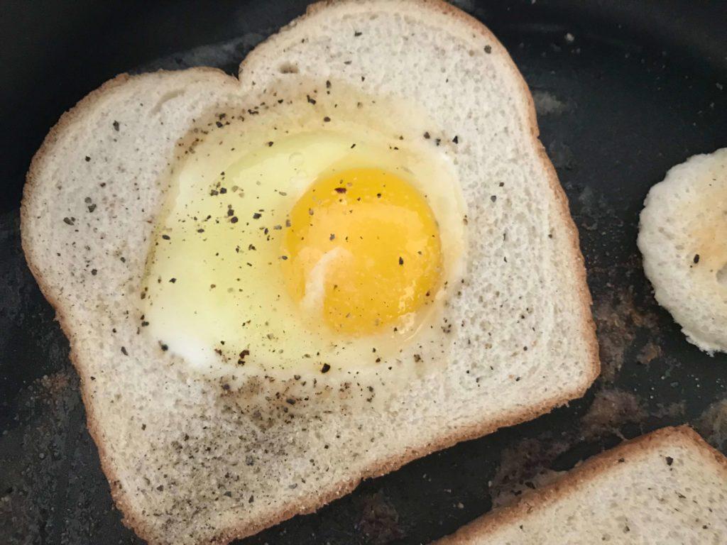 Eggs in a Basket | Easy Breakfast Ideas