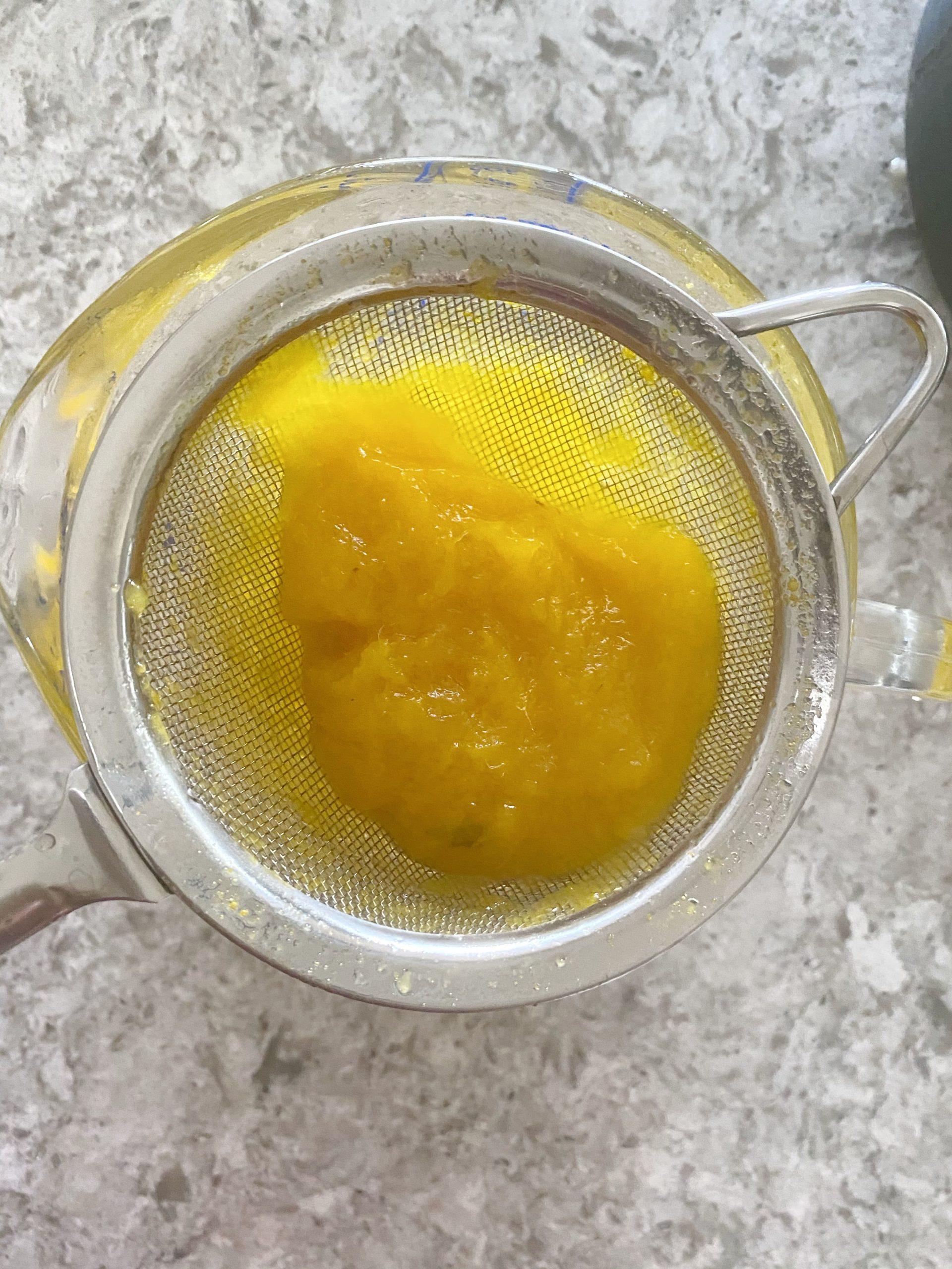 mango simple syrup