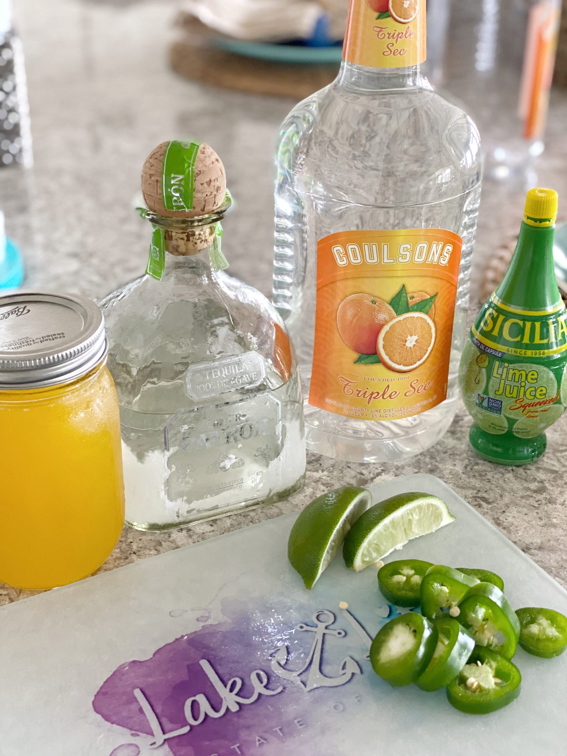 Spicy Mango Margarita Ingredients