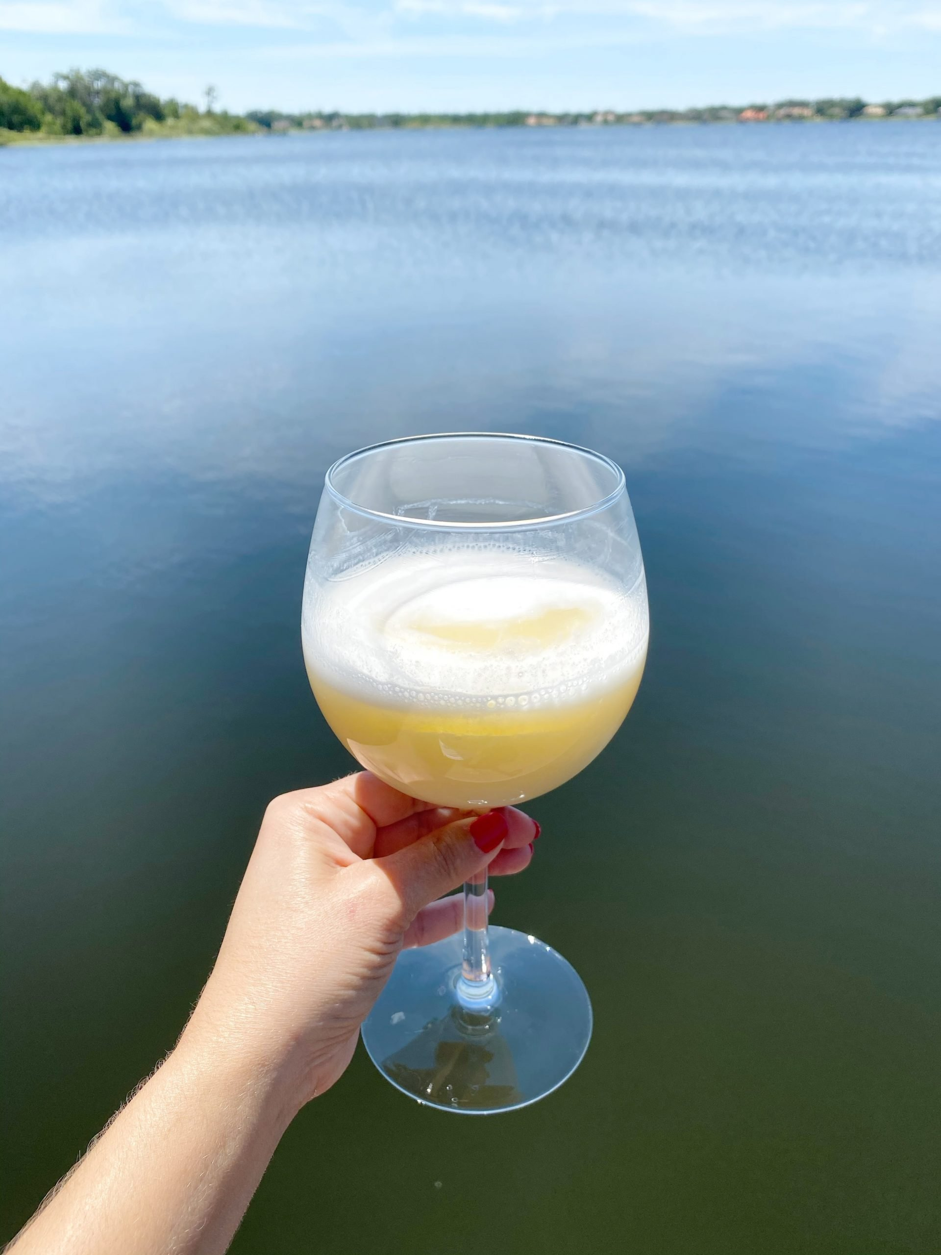 Pineapple Paradise Mimosa plus Mocktail Recipe