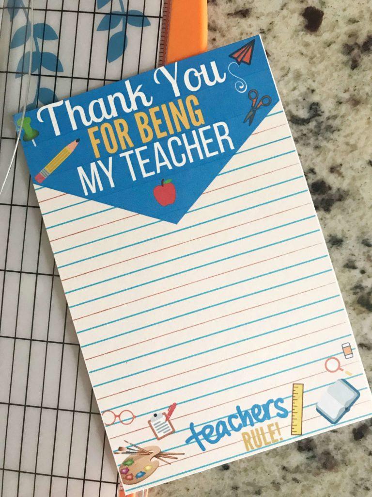 Teacher Gift Ideas | Simple Teacher Gifts