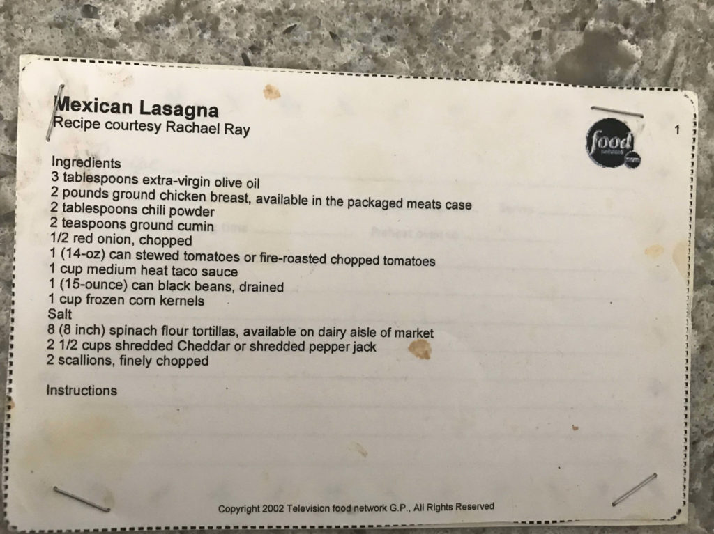 Tex Mex Lasagna | Easy Chicken Recipe Tex Mex Lasagna